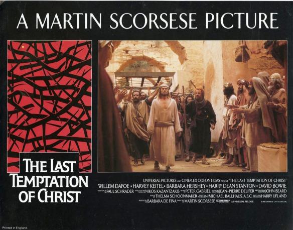 THE LAST TEMPTATION OF CHRIST (1988 Martin Scorsese) British Lobby Card