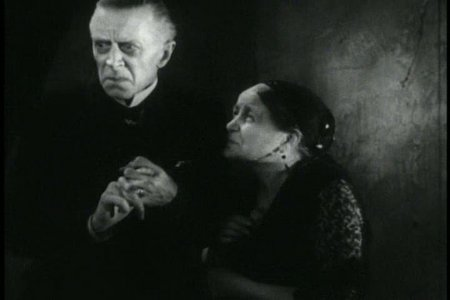 The Old Dark House (1932) Ernest Thesiger, Eva Moore