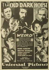 The Old Dark House (1932 James Whale) advertisement