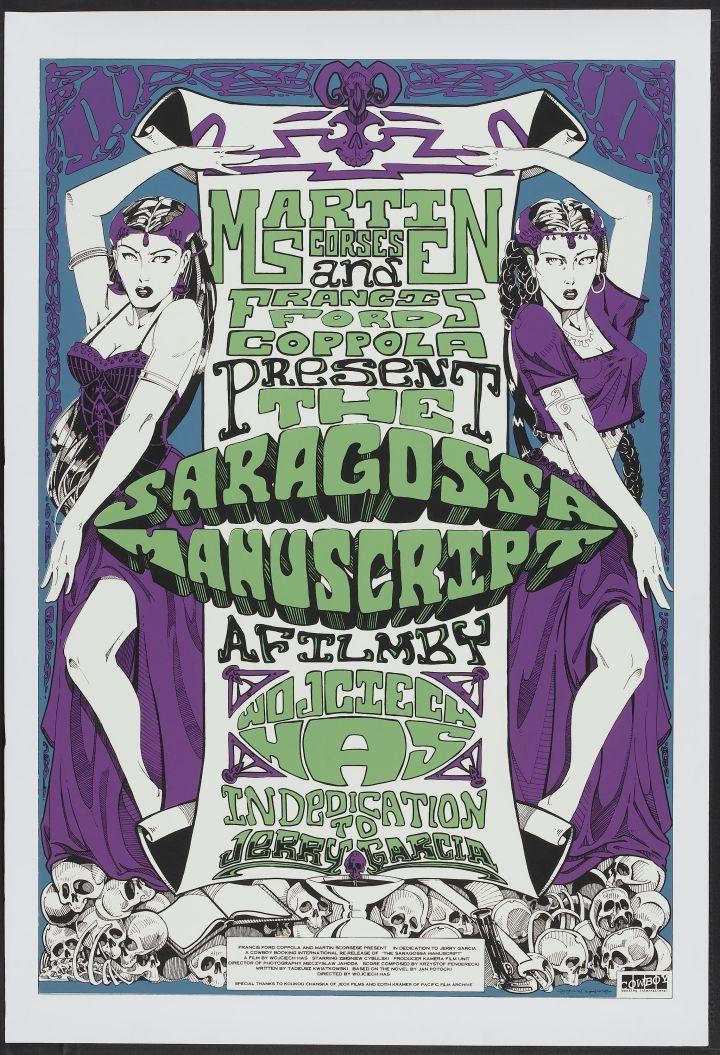 THE SARAGOSSA MANUSCRIPT (1965) theatrical release poster
