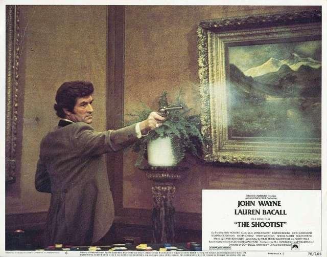 The Shootist (1976 Don Siegel) Hugh O' Brien. Lobby card