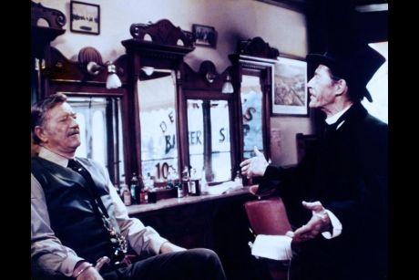 The Shootist (1976 Don Siegel) John Wayne, John Carradine
