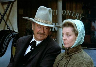 The Shootist (1976 Don Siegel) John Wayne, Lauren Bacall