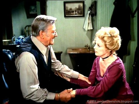 The Shootist (1976 Don Siegel) John Wayne, Sheree North