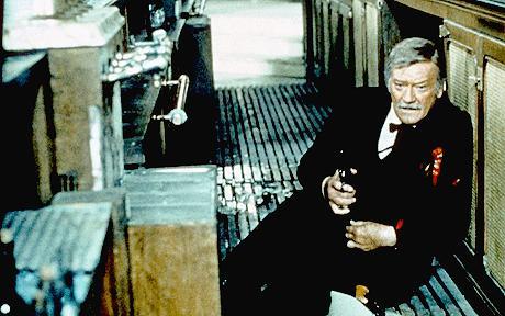 The Shootist (1976 Don Siegel) John Wayne