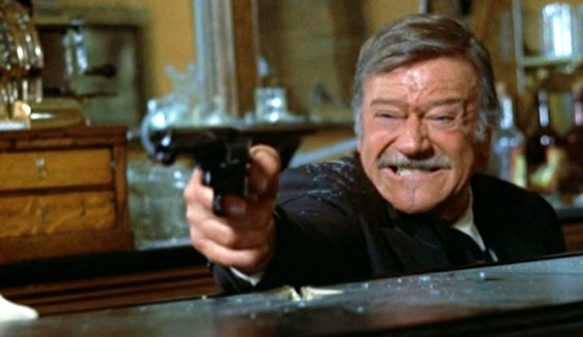 The Shootist (1976 Don Siegel) John Wayne