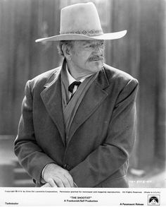 The Shootist (1976 Don Siegel) lobby card. John Wayne