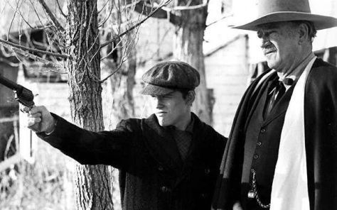 The Shootist (1976 Don Siegel) Ron Howard, John Wayne