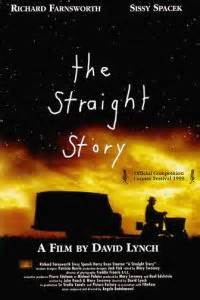 The Straight Story (1999 David Lynch) theatrical poster
