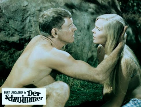 THE SWIMMER (1968) Lobby card