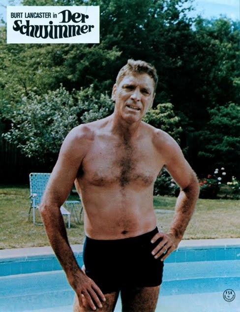 THE SWIMMER (1968) theatrical oster. Burt Lancaster