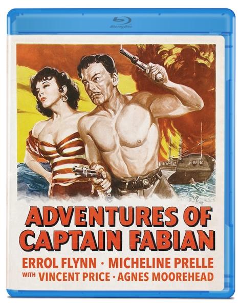 Adventures Of Captain Fabian. blu-ray