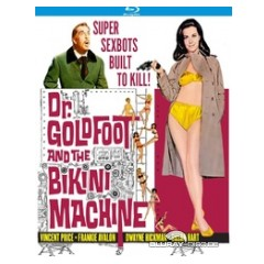 Dr. Goldfoot and the Bikini Machine blu-ray