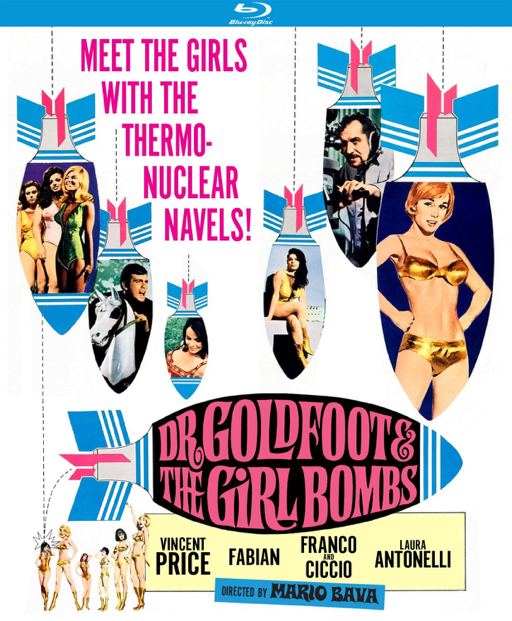 Dr. Goldfoot and the Girl Bombs blu-ray