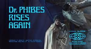 Dr. Phibes Rises Again. Vicent Price