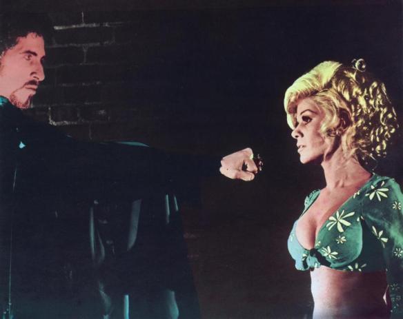 DRACULA VS. FRANKENSTEIN (1971 Al Adamson) Zandor Vorkov and Regina Carrol