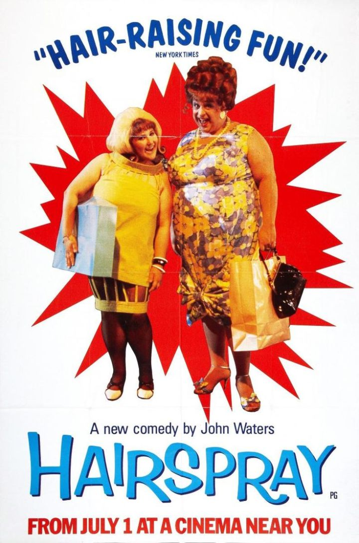 Hairspray (1988 John Waters) thatrical poster