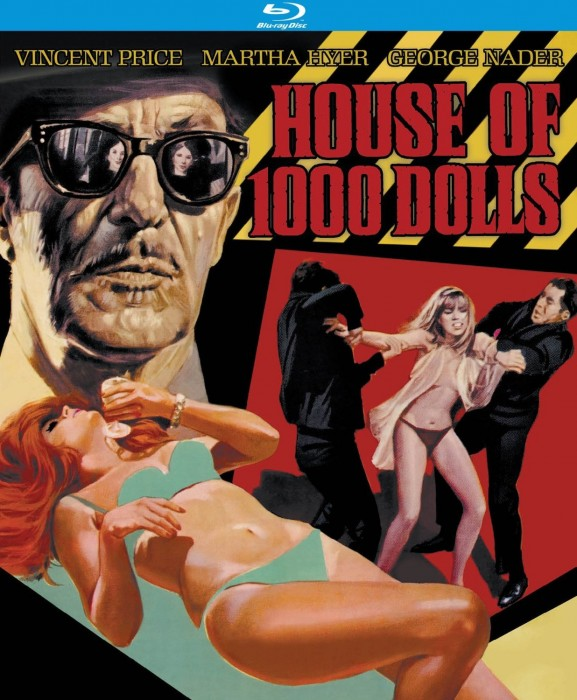 House of 1,000 Dolls Blu-Ray