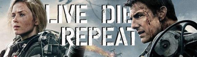 Live Die Repeat Edge Of Tomorrow (2014) Emily Blunt Tom Cruise