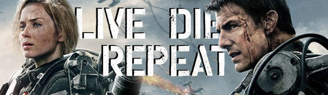 Live Die Repeat Edge Of Tomorrow (2014) Emily Blunt Tom Cruise