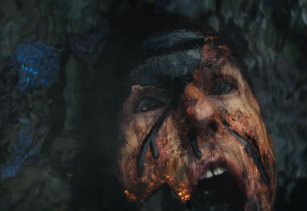Live Die Repeat Edge Of Tomorrow (2014) Tom Cruise being fried in death #1