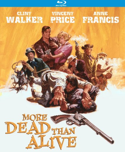 More Dead Than Alive blu-ray