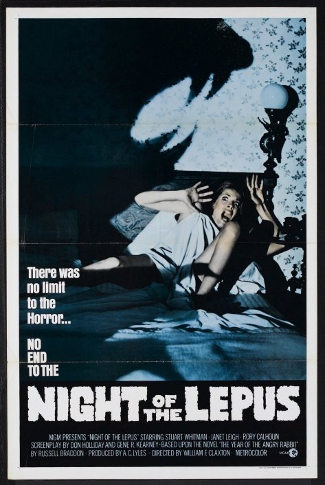 NIGHT OF THE LEPUS (1972) theatrical release poster