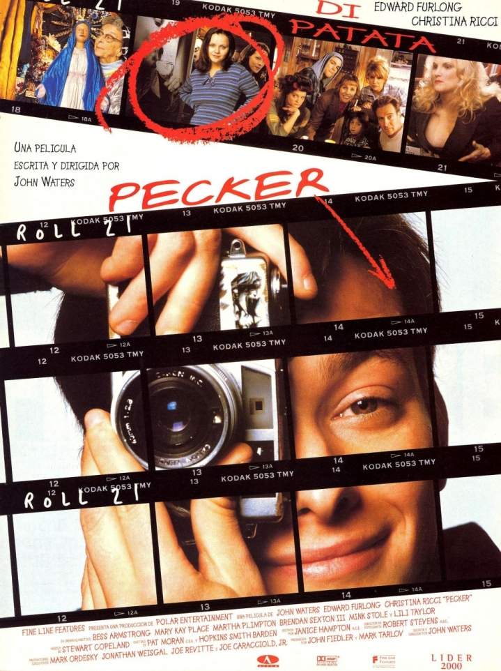 Pecker (1998 John Waters) theatrical poster