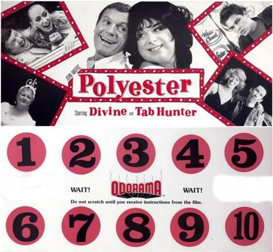 Polyester (1981 John Waters) Odorama card