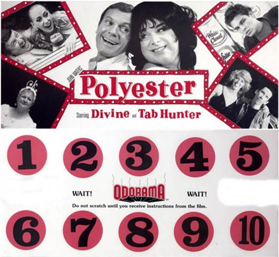 Polyester (1981 John Waters) Odorama card
