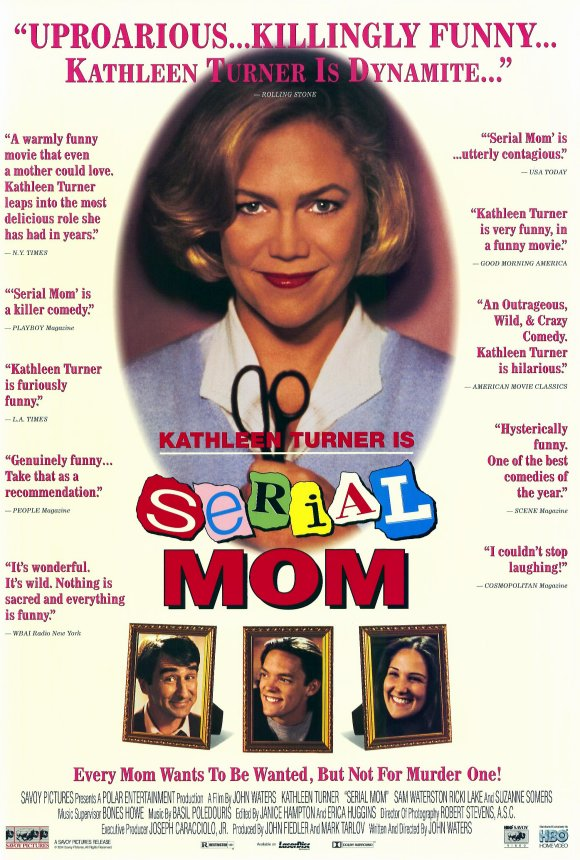 SERIAL MOM (1994 John Waters) Theatrical poster