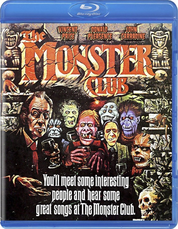 The Monster Club blu-ray