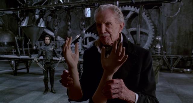 Vincent Price Edward Scissorhands (Tim Burton)