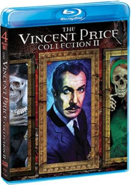 Vincent Price II Blu-Ray collection