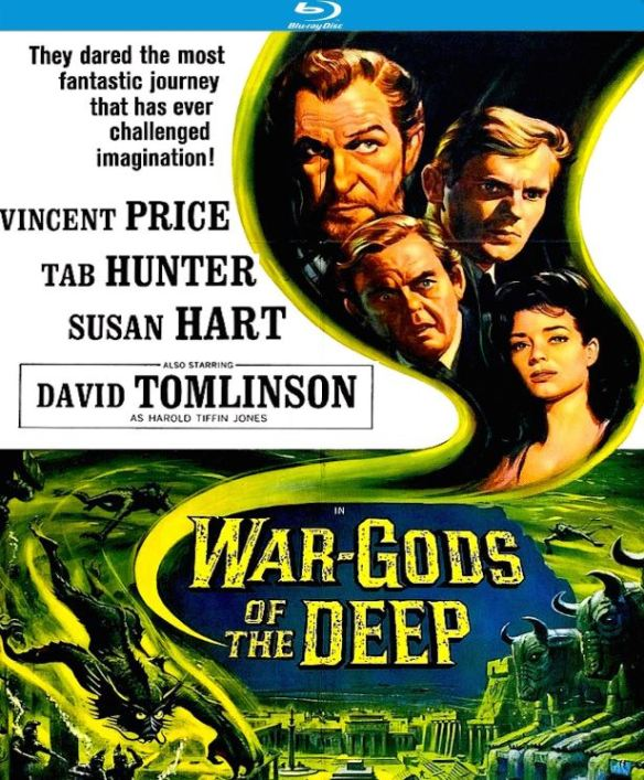 War-Gods Of The Deep Blu-Ray