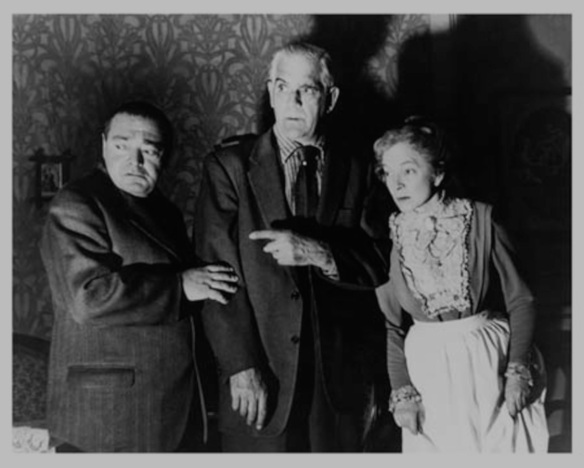 Arsenic and old lace Peter Lorre Boris Karloff
