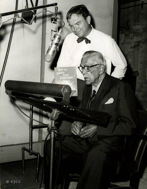 BORIS KARLFF & CHUCK JONES