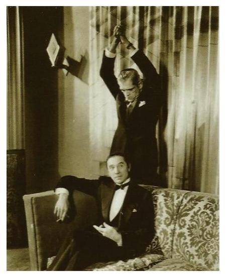 BORIS KARLOFF AND BELA LUGOSI Publicity