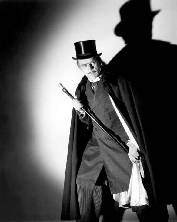 Boris Karloff as Dr. Jekyll