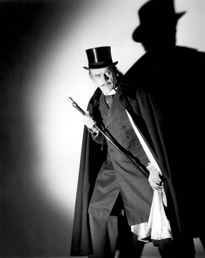Boris Karloff as Dr. Jekyll