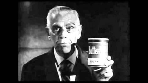 Boris Karloff coffee ad