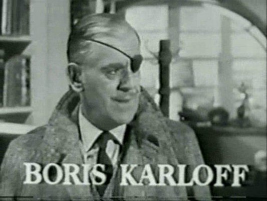 BORIS KARLOFF COL MARCH