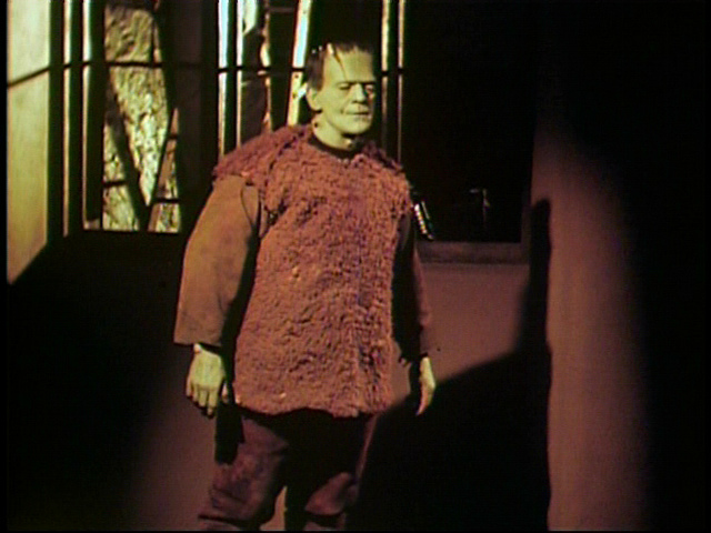 Boris Karloff color test for Son Of Frankenstein