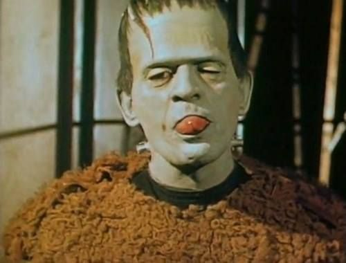 Boris Karloff color test (Son Of Frankenstein)