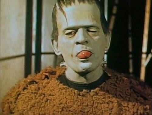 Boris Karloff color test (Son Of Frankenstein)