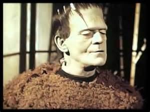 Boris Karloff color test Son Of Frankenstein