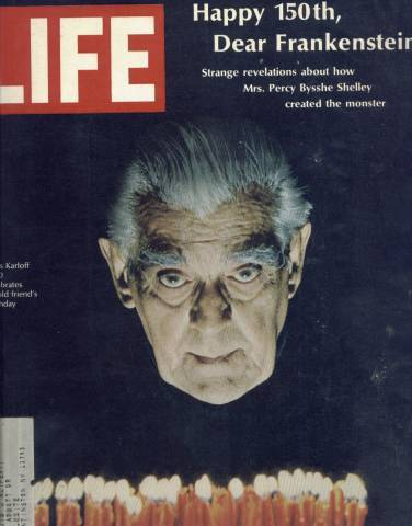 BORIS KARLOFF HAPPY BIRTHDAY (LIFE)