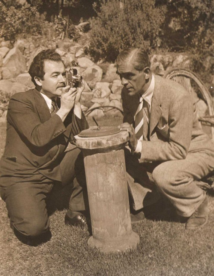 Boris Karloff home movies