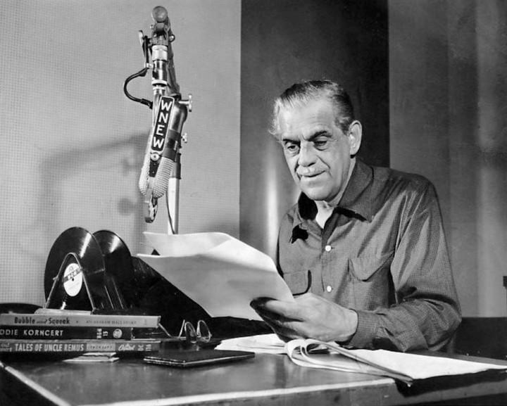 BORIS KARLOFF IN RADIO SHOW