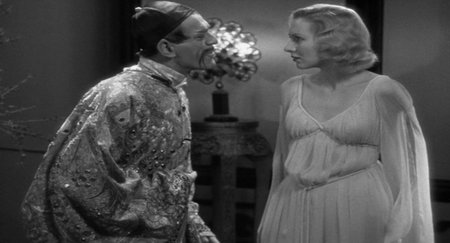 Boris Karloff Karen Morley %22The Mask of Fu Manchu%22